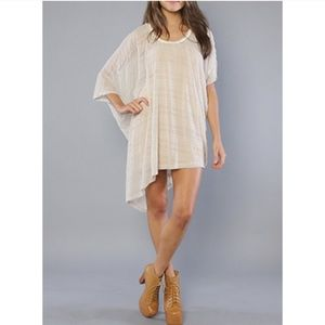Free People New Romantics Asymmetrical Tunic Tops
